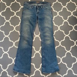 Vintage Hudson Low-Rise Bootcut jeans
